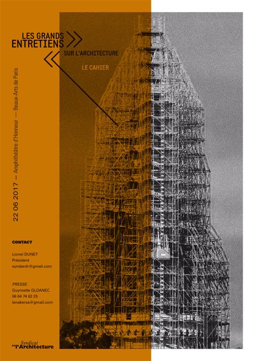 Syndicat de l'Architecture / Les grands entretiens / Dossier de presse